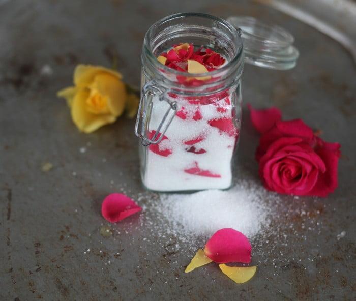 rosensocker socker av rosenblad lavendelsocker syrensocker