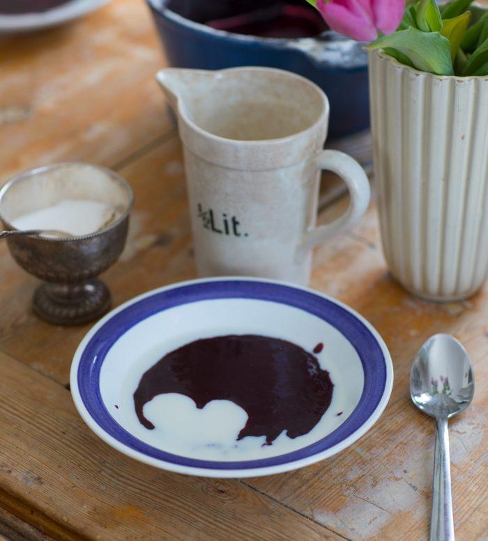 lunch mellis blåbärsgröt recept