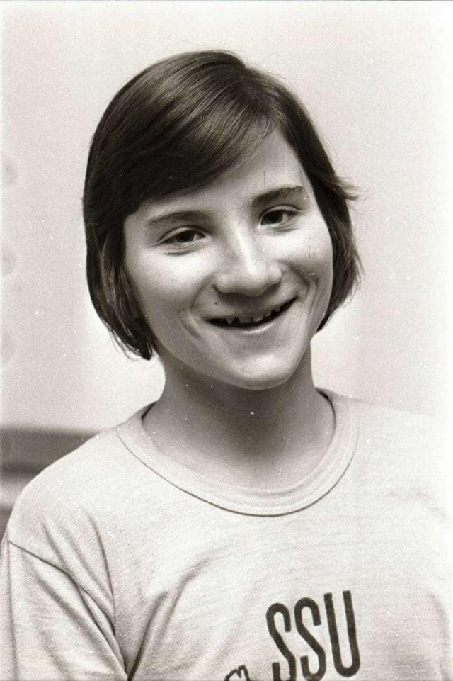 Stefan Löfven som ung pojke 1972